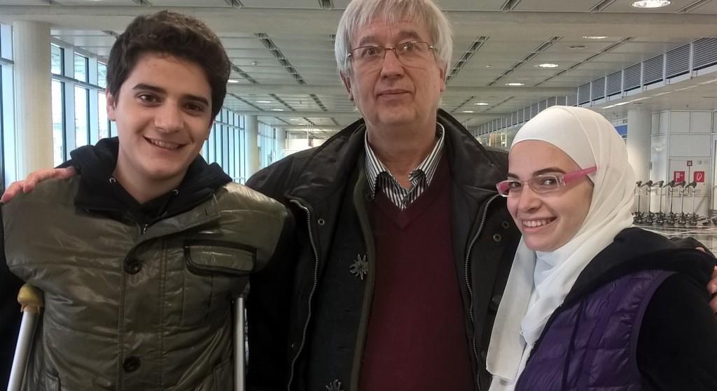 Mohamad, Bernd und Sara